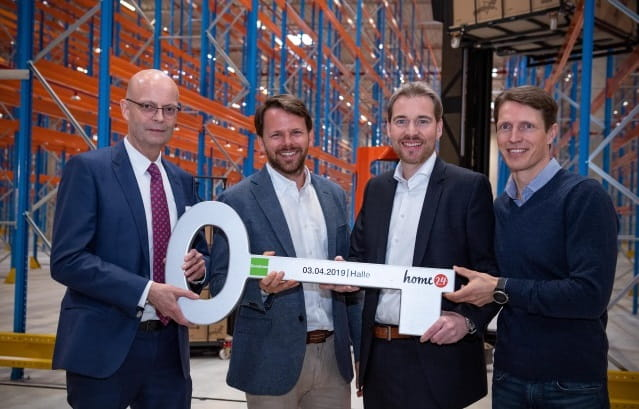 Logistics centre in Star Park Halle completed:  Goodman delivers over 70,000 sqm to home24 Largest property in the company's history