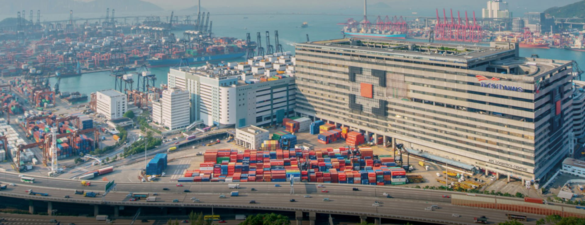 Goodman-Hong-Kong-ATL-Logistics-blue-sky-container-terminal